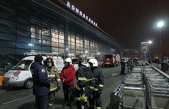 """Аэропорт """"Домодедово"""", 2011 год"""