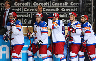 Хоккеисты сборной России