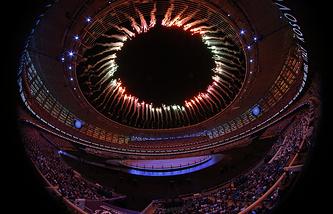 Церемония открытия I Европейских игр в Баку