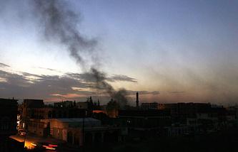 Взрывы в Сане