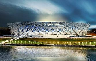Проект стадиона в Волгограде