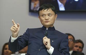 Глава компании Alibaba Джек Ма