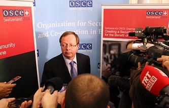 Постоянный представитель РФ при ОБСЕ Андрей Келин