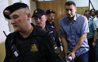 Начальник дистанции капитального ремонта службы пути московского метрополитена Алексей Трофимов