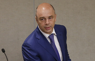 Глава Минфина РФ Антон Силуанов