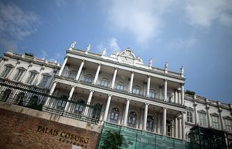Дворец Кобург, где проходят переговоры по ядерной программе Ирана, Вена