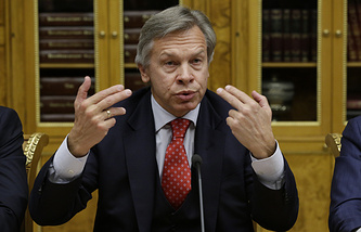 Глава комитета Госдумы по международным делам Алексей Пушков