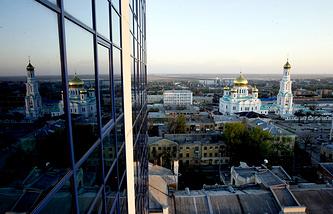 Вид на город Ростов-на-Дону