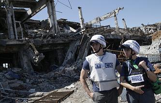 Представители миссии ОБСЕ