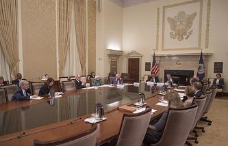 Заседании Совета управляющих ФРС