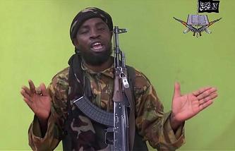 "Лидер группировки ""Боко харам"" Абубакар Шекау"