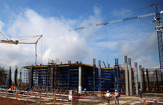 Строительство стадиона ЧМ-2018 в Самаре