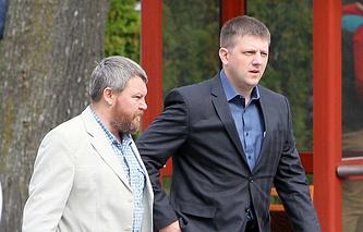Андрей Пургин и Алексей Карякин (слева направо)