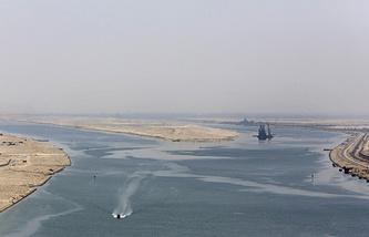 Новое русло Суэцкого канала