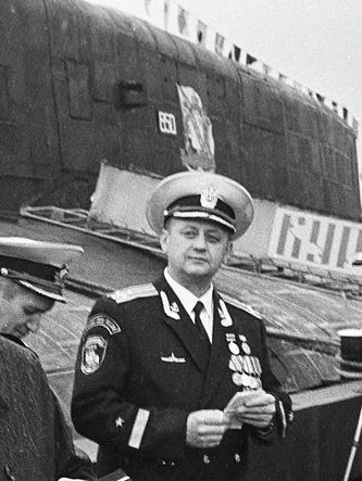 """Командир атомной подводной лодки """"Курск"""" капитан 1-го ранга Геннадий Лячин"""