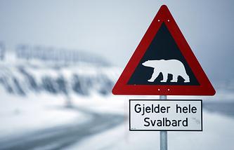 """Архипелаг входит в состав Норвегии  как территориальная единица Svalbard, """"холодные берега"""""""