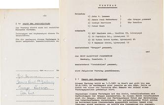 Данный контракт был в 1961 году заключен между The Beatles и германским продюсером Бертом Кемпфертом, представлявшим звукозаписывающую компанию Polydor