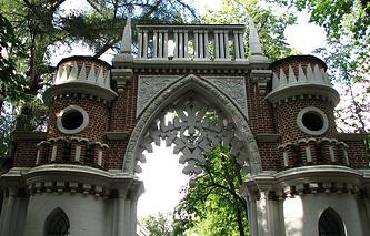 Фигурные (Виноградные) ворота