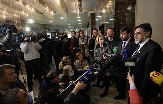 Встреча контактной группы по Украине в Минске. Архив