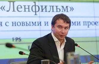"""Директор киностудии """"Ленфильм"""" Эдуард Пичугин"""