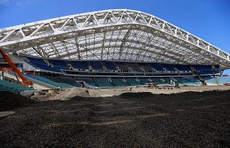 "Реконструкция стадиона ""Фишт"""
