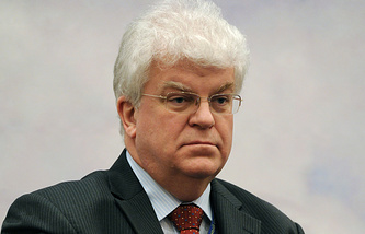 Постоянный представитель России при ЕС Владимир Чижов