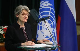 Генеральный директор ЮНЕСКО Ирина Боков
