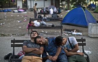 Мигранты в Белграде, Сербия