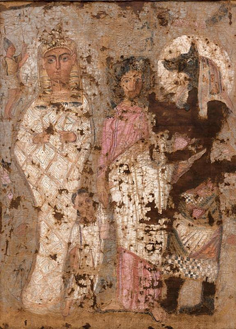 Египетская погребальная пелена