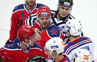 Чемпионат КХЛ: ЦСКА (Москва) – СКА (Санкт-Петербург)