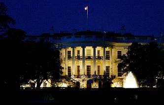 США. Вашингтон. Белый дом