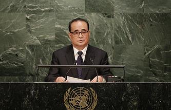Глава МИД КНДР Ли Су Ё