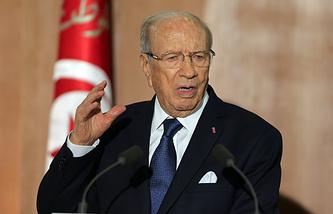 Президент Туниса Бежи Каид эс-Себси