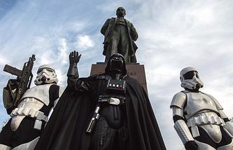 "Лидер ""Интернет-партии"" Украины Дарт Вейдер"