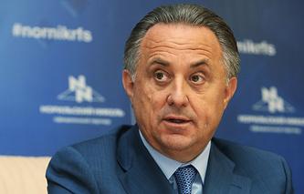 Министр спорта РФ, президент Российского футбольного союза Виталий Мутко