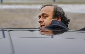 Вице-президент ФИФА Мишель Платини