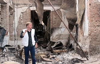 """Генеральный директор """"Врачей без границ"""" Кристофер Стокс"""