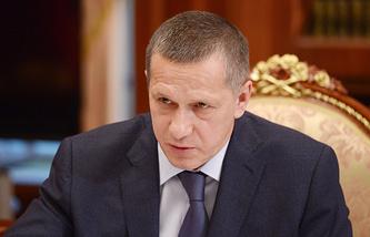 Вице-премьер России, полномочный представитель президента РФ в Дальневосточном федеральном округе Юрий Трутнев