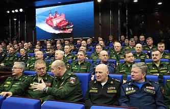 Заседание ежегодной расширенной коллегии Министерства обороны РФ, 11 декабря