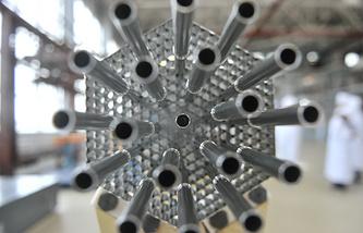 Каркас топливных кассет для энергетических атомных реакторов
