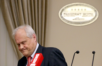 Спецпредставитель председателя ОБСЕ Мартин Сайдик