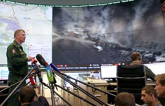 Официальный представитель министерства обороны РФ Игорь Конашенков