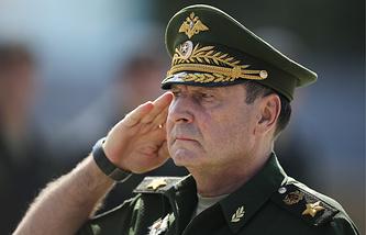 Заместитель министра обороны РФ генерал армии Дмитрий Булгаков