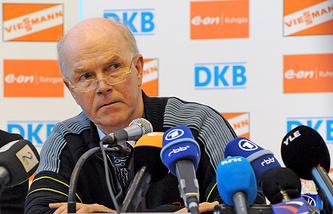 Андерс Бессеберг, президент Международного союза биатлонистов (IBU)