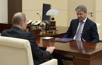 Владимир Путин и Александр Ткачев