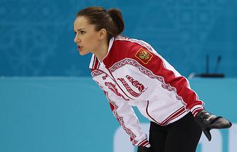 Игрок сборной России Анна Сидорова, архив