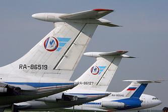 Самолеты ИЛ-76 МЧС России