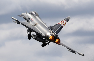Истребитель Eurofighter Typhoon
