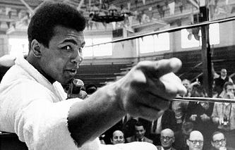 Мохаммед Али, 1970 год