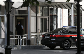 Во время обысков в здании Главного следственного управления СК РФ по Москве